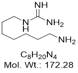 GC7 [CAS: 150333-69-0] N1-Guanyl-1,7-diaminoheptane |Glixxlabs com